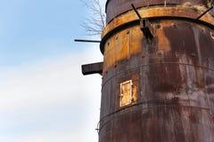 Forni a calce in Kladno, repubblica Ceca, monumento culturale nazionale Immagini Stock