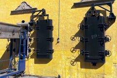 Forni e trasportatore alla distilleria di tequila immagini stock libere da diritti
