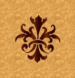Fornirowy ornament Obrazy Royalty Free