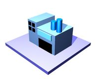 Fornitore - serie della gestione di catena di rifornimento Fotografie Stock