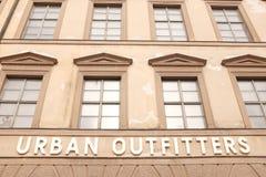 Fornitori urbani fotografie stock libere da diritti