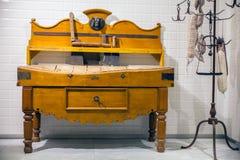 Forniture viejo para la carnicería Imagen de archivo libre de regalías