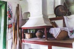Forno antigo da vila Imagens de Stock