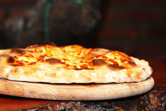 Forno basso della pizza Fotografie Stock Libere da Diritti