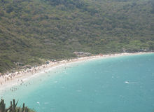 Forno Beach in Arraial Do Cabo Stock Photography