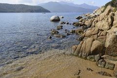 Forno beach, Elba Royalty Free Stock Images
