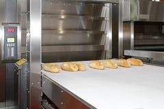 Forno do cozimento do pão Imagem de Stock