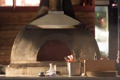 Forno da pizza imagens de stock
