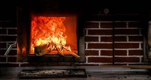 Forno de madeira Foto de Stock