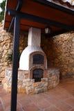 Forno del pane a Mijas nelle montagne sopra Costa del Sol in Spagna Fotografia Stock