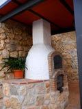Forno del pane a Mijas nelle montagne sopra Costa del Sol in Spagna Immagini Stock Libere da Diritti