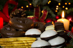 Forno di Natale Fotografie Stock