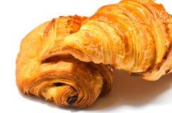 Forno francese del croissant Immagini Stock Libere da Diritti