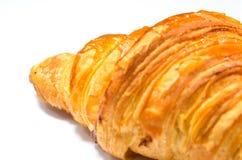 Forno francese del croissant Immagini Stock