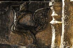 Forntida äldre skulptur Royaltyfri Bild