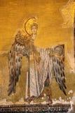 forntida ängelmosaik Arkivbild