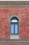 forntida ärke- byggnadskolonnfönster Royaltyfri Fotografi