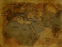 forntida översikt Arkivfoto