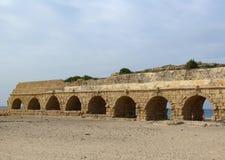 forntida akvedukt Arkivfoto