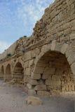 forntida akvedukt Royaltyfria Bilder