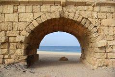 forntida akvedukt Royaltyfri Fotografi