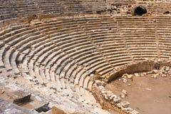 Forntida amfiteater Royaltyfria Bilder