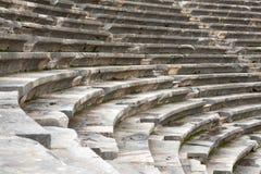 forntida amphitheater Royaltyfri Fotografi