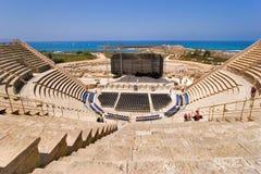 forntida amphitheater Royaltyfri Foto