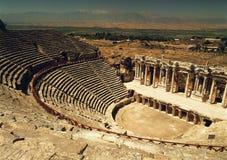forntida amphitheater Arkivfoton