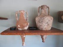 forntida amphoras royaltyfri bild