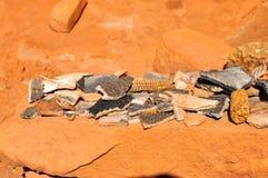 Forntida Anasazi by Royaltyfri Foto