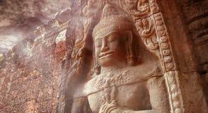 forntida angkor Arkivfoto