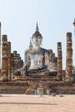 Forntida antika Buddhastatyer Arkivfoton