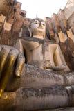 Forntida antika Buddhastatyer Arkivfoto