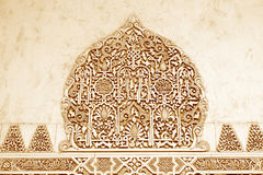Forntida arabisk prydnad Arkivbild