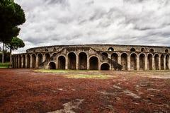 Forntida arena i Pompeii Royaltyfri Fotografi