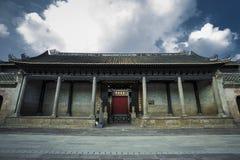 Forntida arkitektoniska byggnader fotografering för bildbyråer