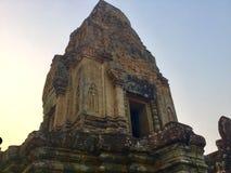 forntida arkitektur axeln cambodia royaltyfri foto