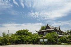 Forntida arkitektur för Suzhou lönn Arkivfoton
