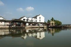Forntida arkitektur för Suzhou lönn Fotografering för Bildbyråer