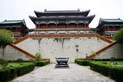 Forntida arkitektur i Kina Arkivfoton