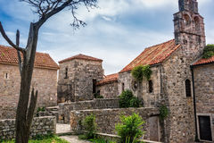 Forntida arkitektur i Montenegro Arkivbild