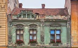 Forntida arkitektur i Rumänien royaltyfria bilder