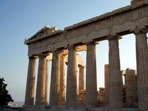 forntida athens greece för acropolis parthenon Arkivfoton