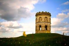 forntida atmosfäriskt torn Fotografering för Bildbyråer