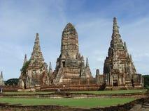 Forntida Ayuthaya, Thailand Royaltyfri Fotografi