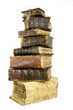 forntida böcker fotografering för bildbyråer