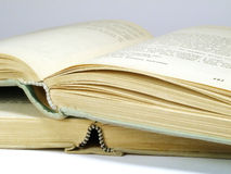 forntida böcker Royaltyfri Fotografi