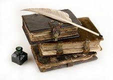 forntida böcker Royaltyfri Bild