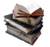 forntida böcker arkivfoton
